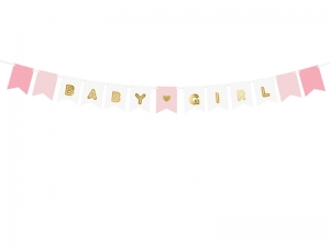 Baner Baby Girl, mix, 15x175 cm