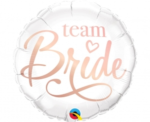 Balon foliowy 18 cali Team Bride